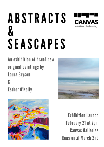 Abstracts & Seascapes: Laura Bryson & Esther O'Kelly