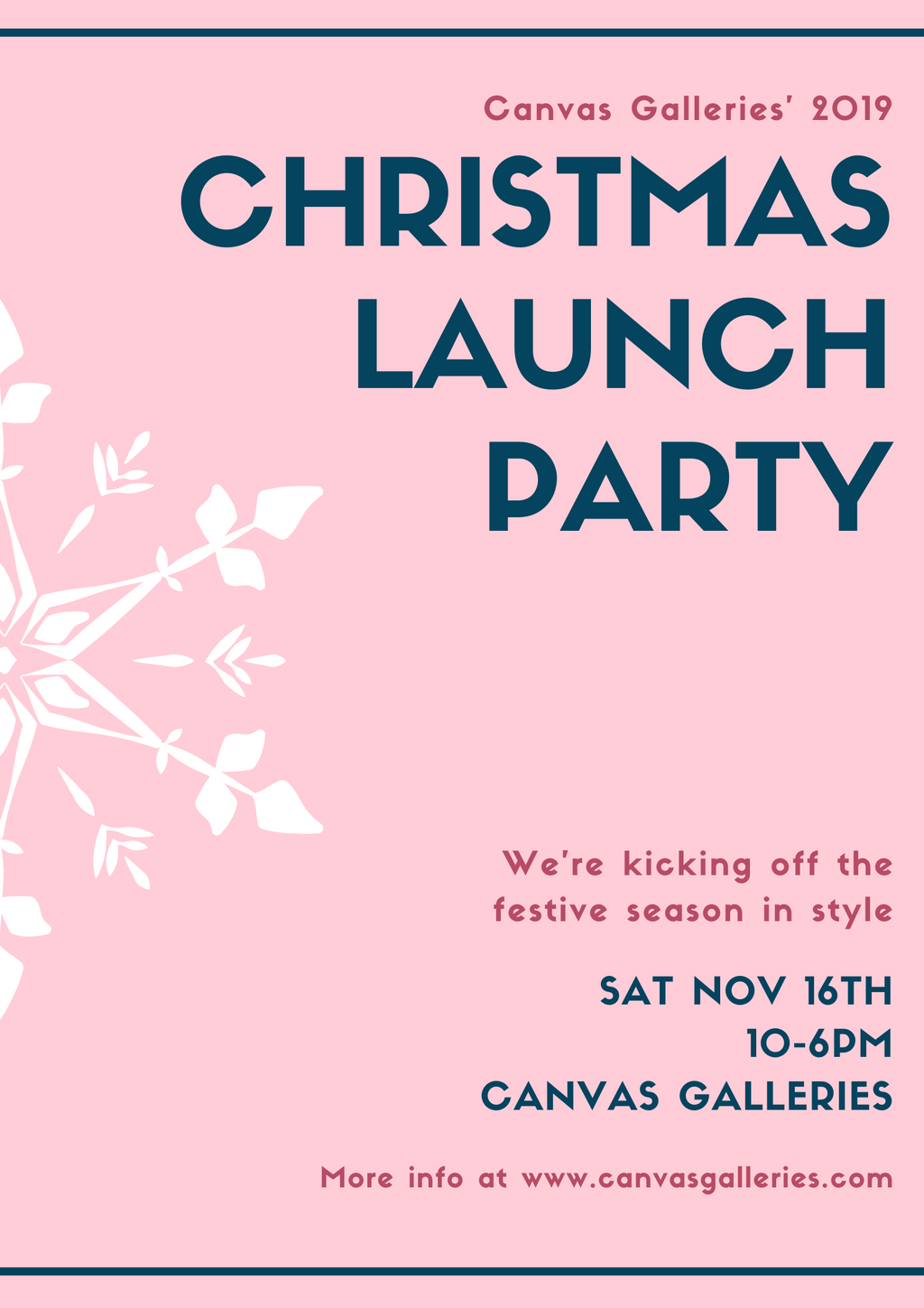 Christmas Launch Party 2019