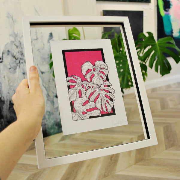 bespoke framing by canvas: THE SUSPENDED FRAME