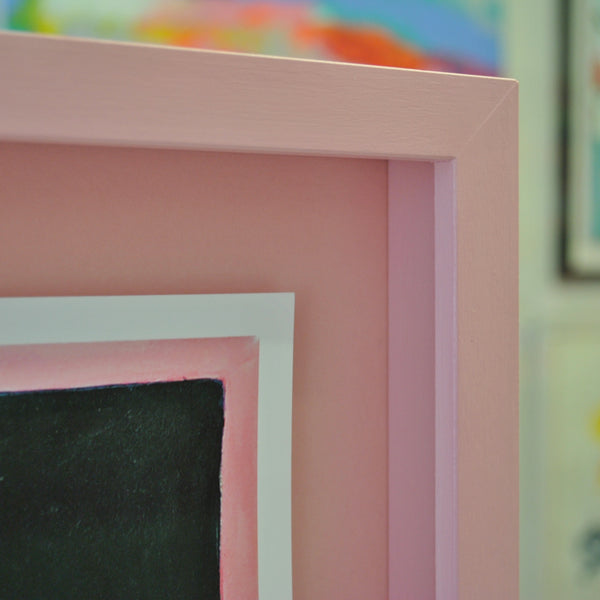 bespoke framing by canvas: PAINT IT PINK