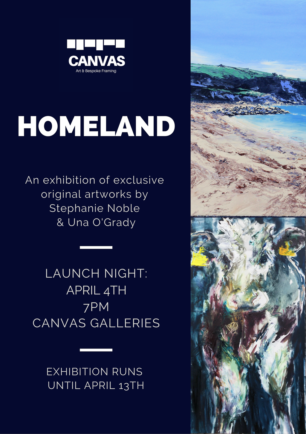 Homeland: Stephanie Noble & Una O'Grady