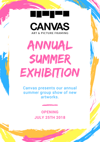 Canvas Galleries Annual Summer Exhibition