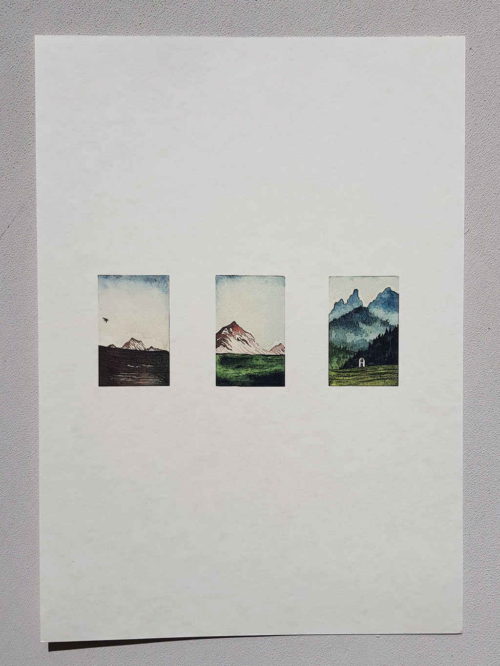 Trio of Mountains