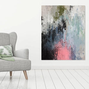 Laura Gray original painting 'Atrophy', 122cm x 76cm, Mixed medium on canvas, 2019