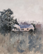 Load image into Gallery viewer, Mark Bonello original oil on board Cottage From Junction 10