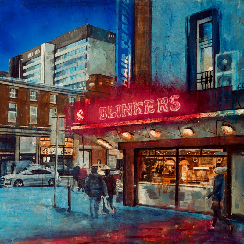 Limited Edition Print 'Nighthawks, Belfast'