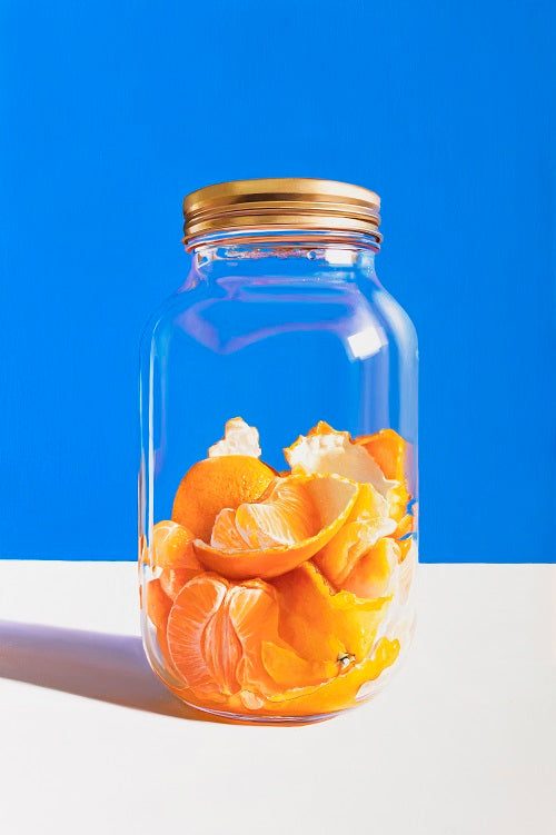 Oranges in Jar