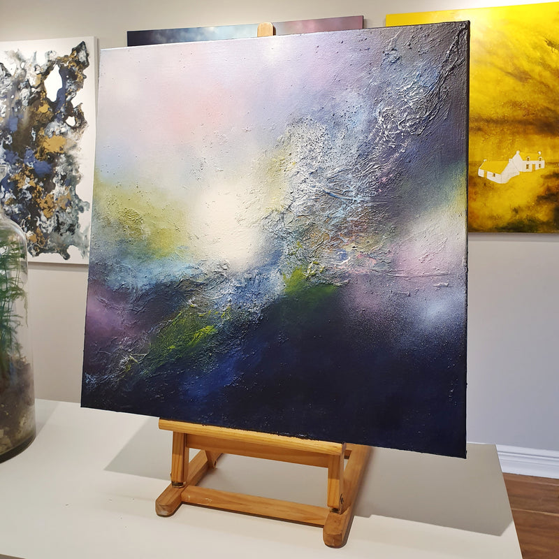 Original abstract painting by ciara gilmore titled sanctuary