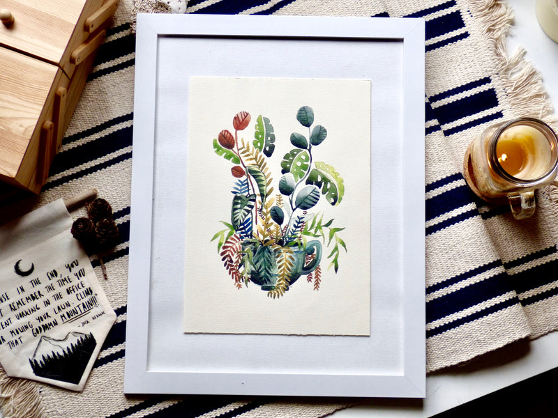 Botanical Teacup Print