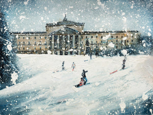 Limited Edition Print 'Stormont in the Snow'
