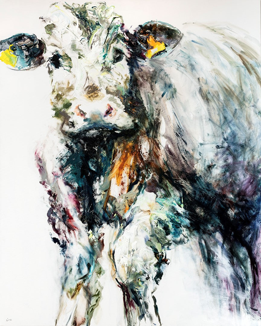 Limited Edition Print 'Bull Calf, 2019'