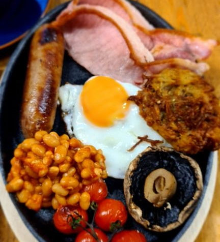 BREAKFAST Thur & Fri 8.00am - 1pm / Sat 9.30am - 1pm