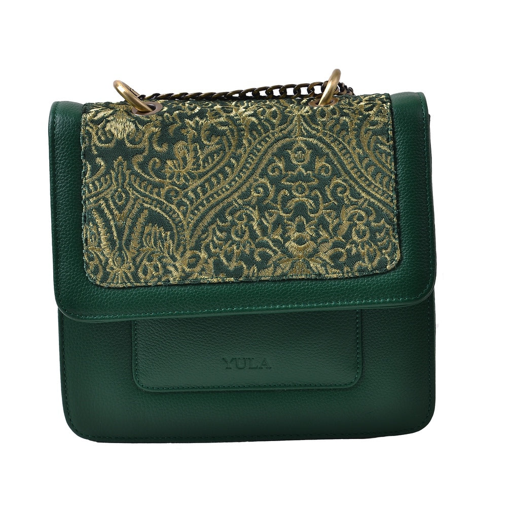 1918 Nelia Medium Shoulder Bag - Green