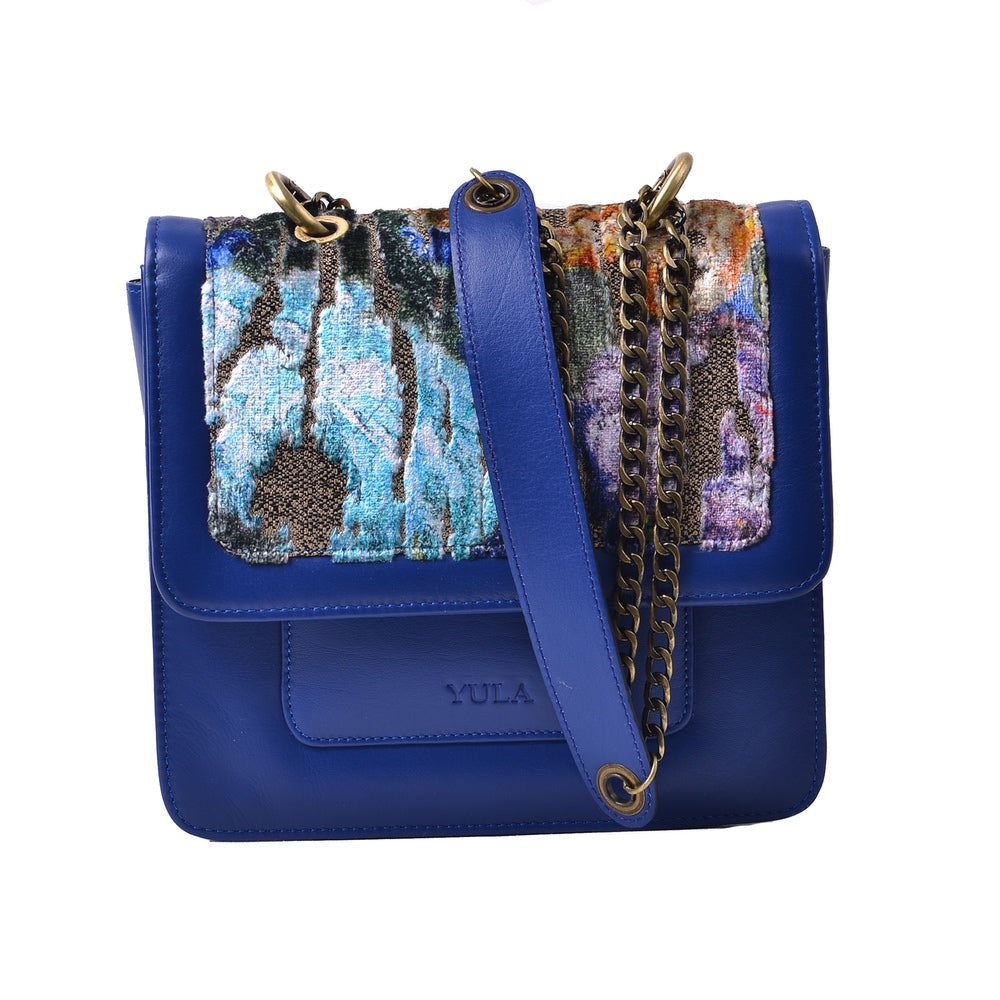 1920 Nelia Medium Shoulder Bag - Cobalt Blue