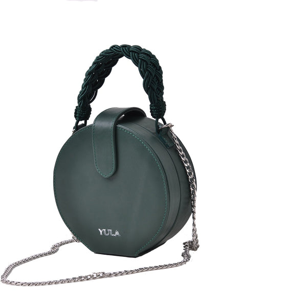 1929 Dara Round Bag - Forest Green
