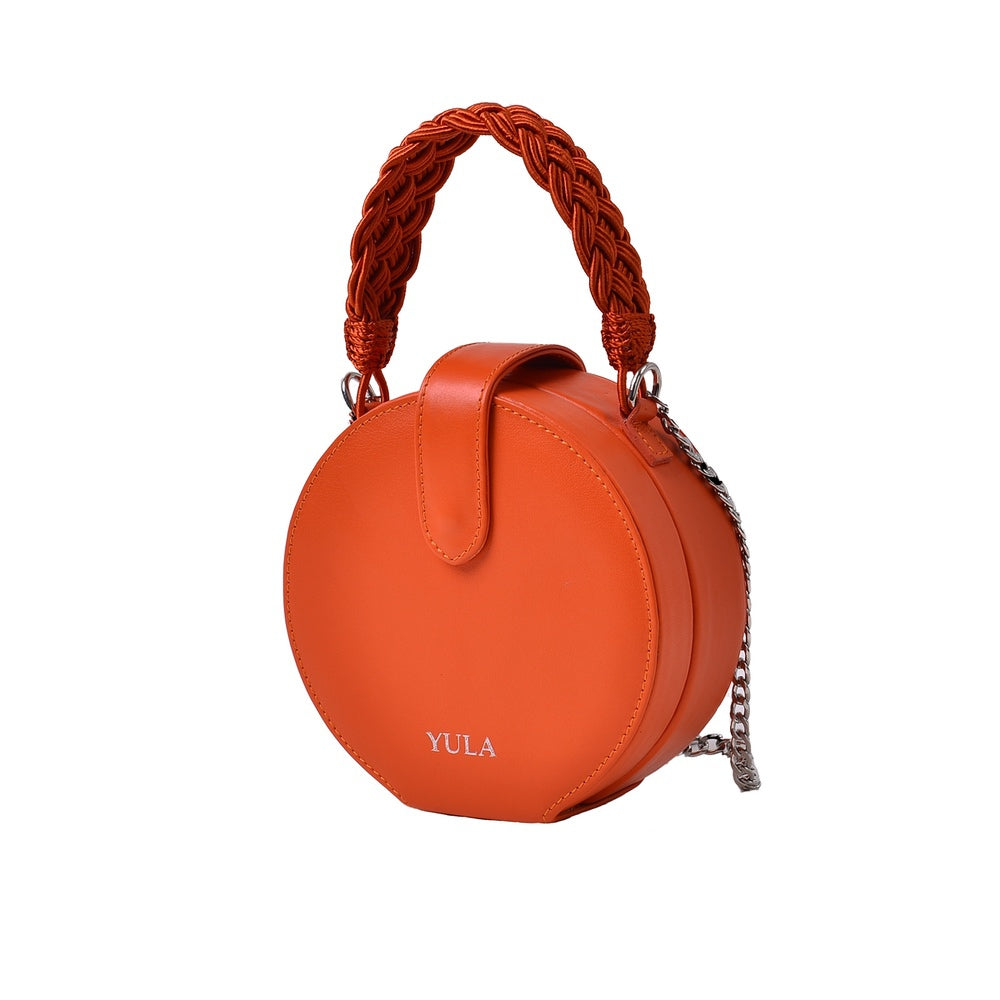 1930 Dara Round Bag - Orange