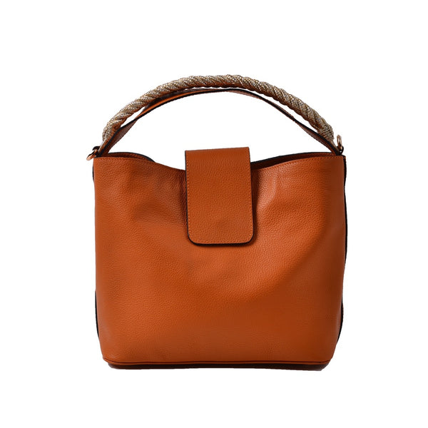 1926 Farah Bucket Bag - Orange