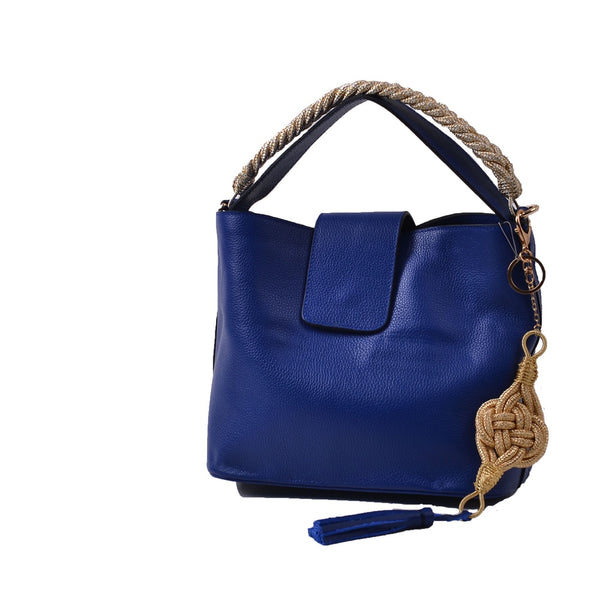 1925 Farah Bucket Bag - Cobalt Blue