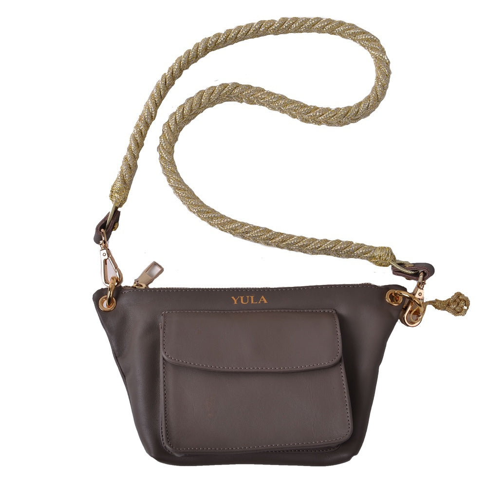 1903 Lina Mini Crossbody Bag - Taupe