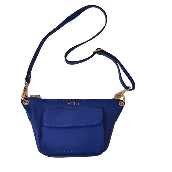 1911 Lina Mini Crossbody Bag - Cobalt Blue