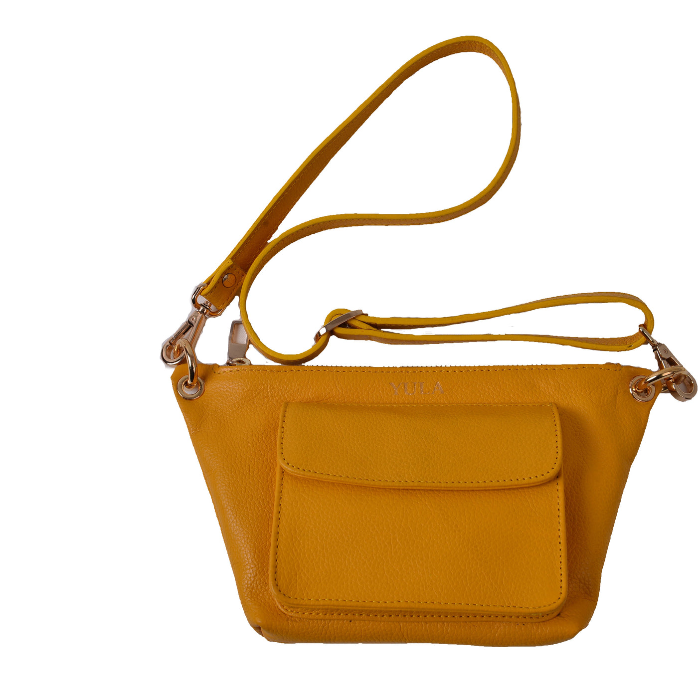 1906 Lina Mini Crossbody Bag - Yellow