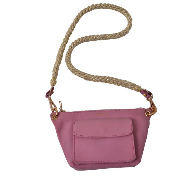 1905 Lina Mini Crossbody Bag - Powdred Pink