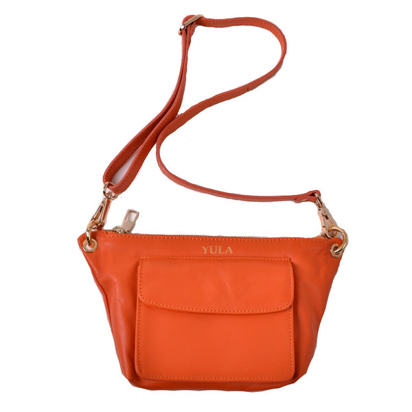 1908 Lina Mini Crossbody Bag - Orange