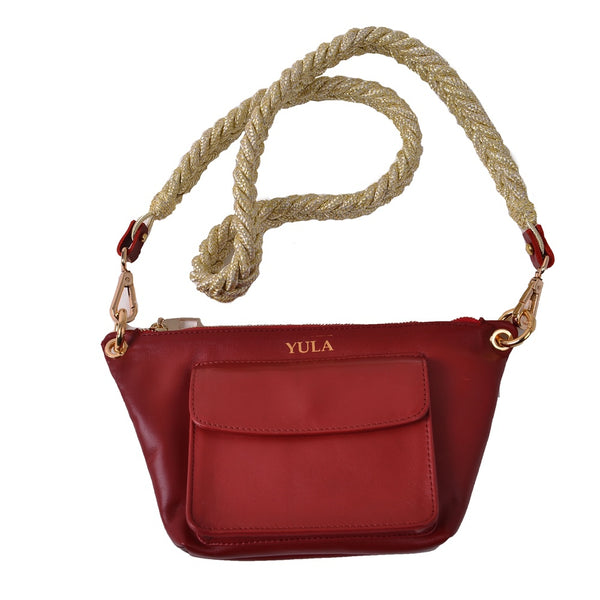 1907 Lina Mini Crossbody Bag - Rouge Gazelle