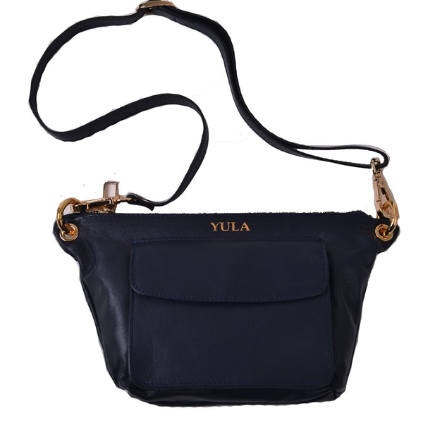 1901 Lina Mini Crossbody Bag - Black