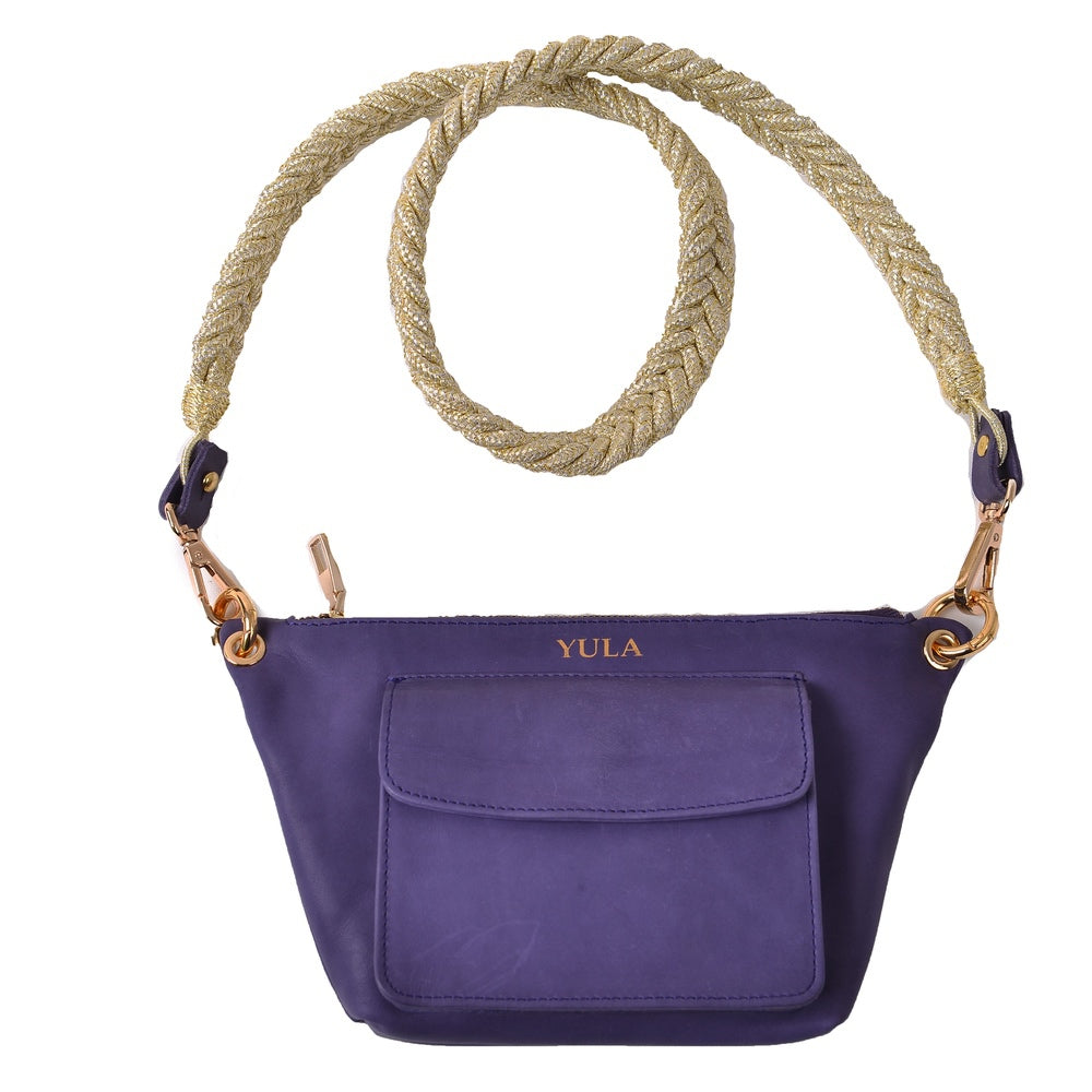 1910 Lina Mini Crossbody Bag - Purple