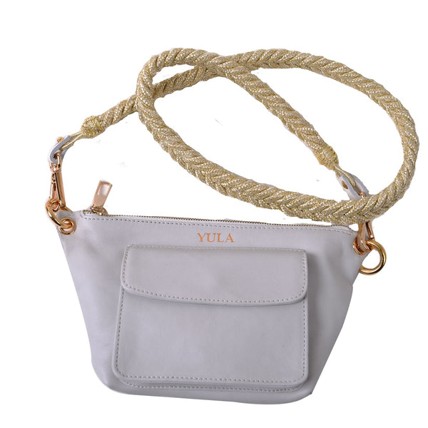 1912 Lina Mini Crossbody Bag - White