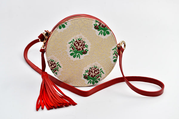 Batool Circle Bag Red