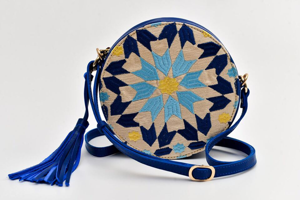 Batool Circle Bag Cobalt Blue