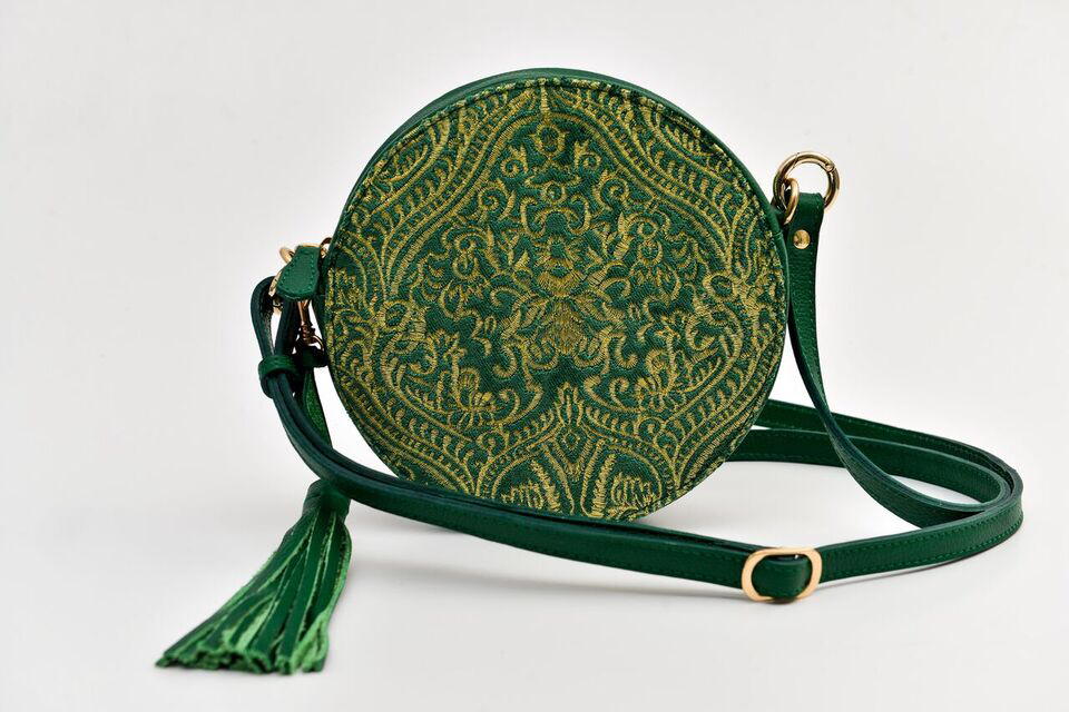 Batool Circle Bag Green