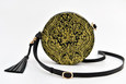 Batool Circle Bag Gold Embroidery