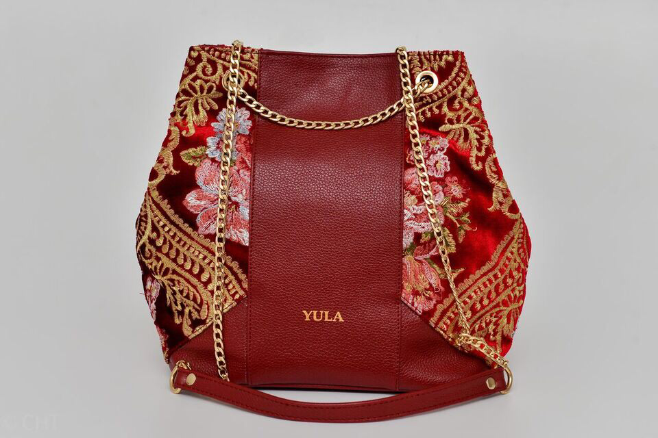 Sophia Bucket Bag - Rouge gazelle