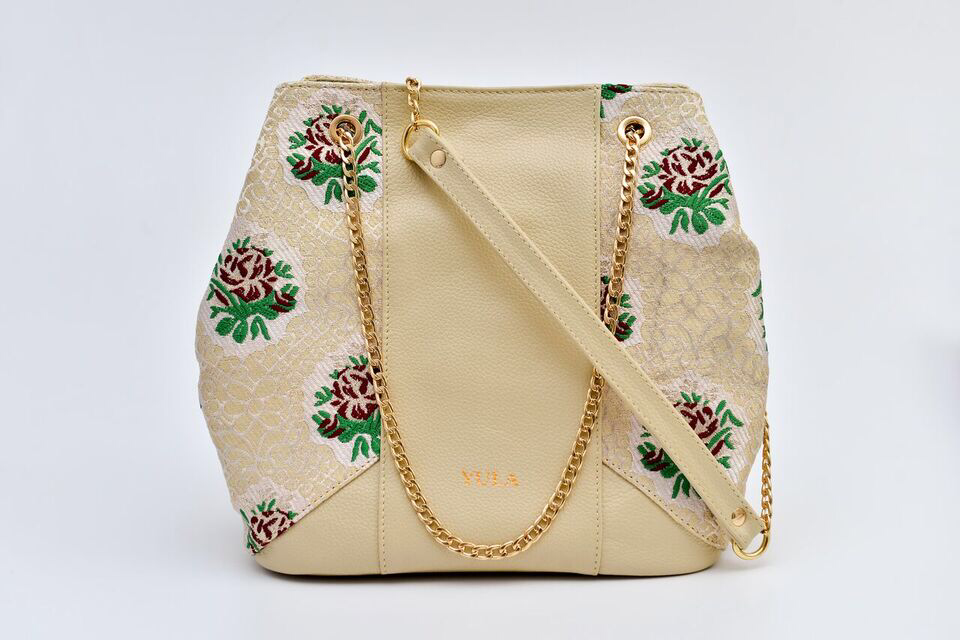 Sophia Bucket Bag - Beige