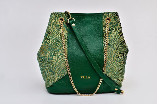 Sophia Bucket Bag - Green