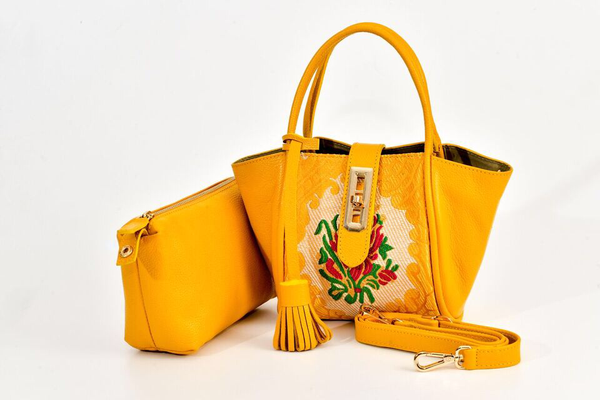 Lumsi Small Satchel Bag - Yellow