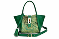 Lumsi Small Satchel Bag - Green