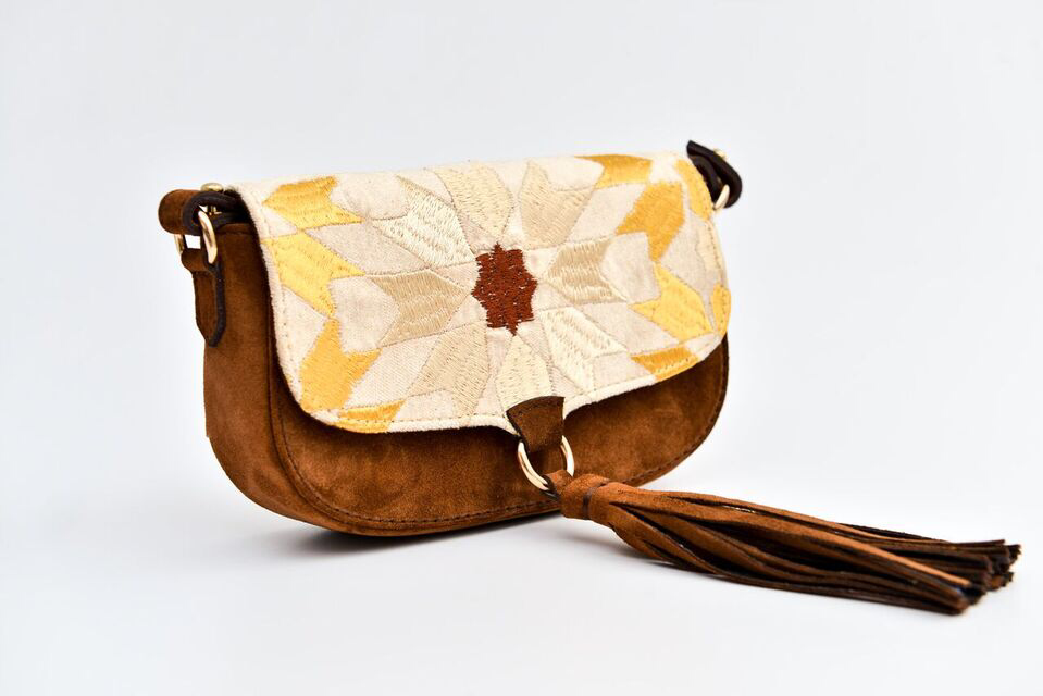 Ittô Mini Crossbody Bag - Brown