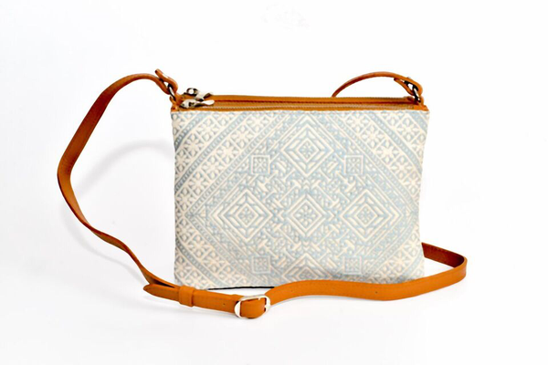 FAY Triple -zip Crossbody Bag - Caramel