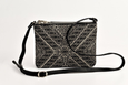 FAY Triple -zip Crossbody Bag - Black