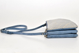 FAY Triple -zip Crossbody Bag - Powdered blue