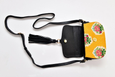 Ittô Mini Crossbody Bag - Vintage Flower Yellow Fabric