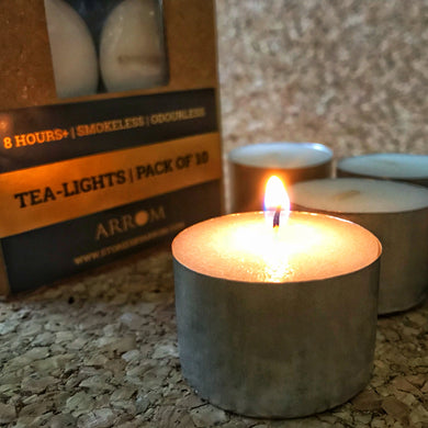 TEA-LIGHTS | SET OF 10