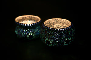 RECYCLED BANGLES TEA LIGHT HOLDERS