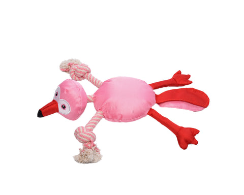 I Give a Wag - Fannie Flamingo Rope