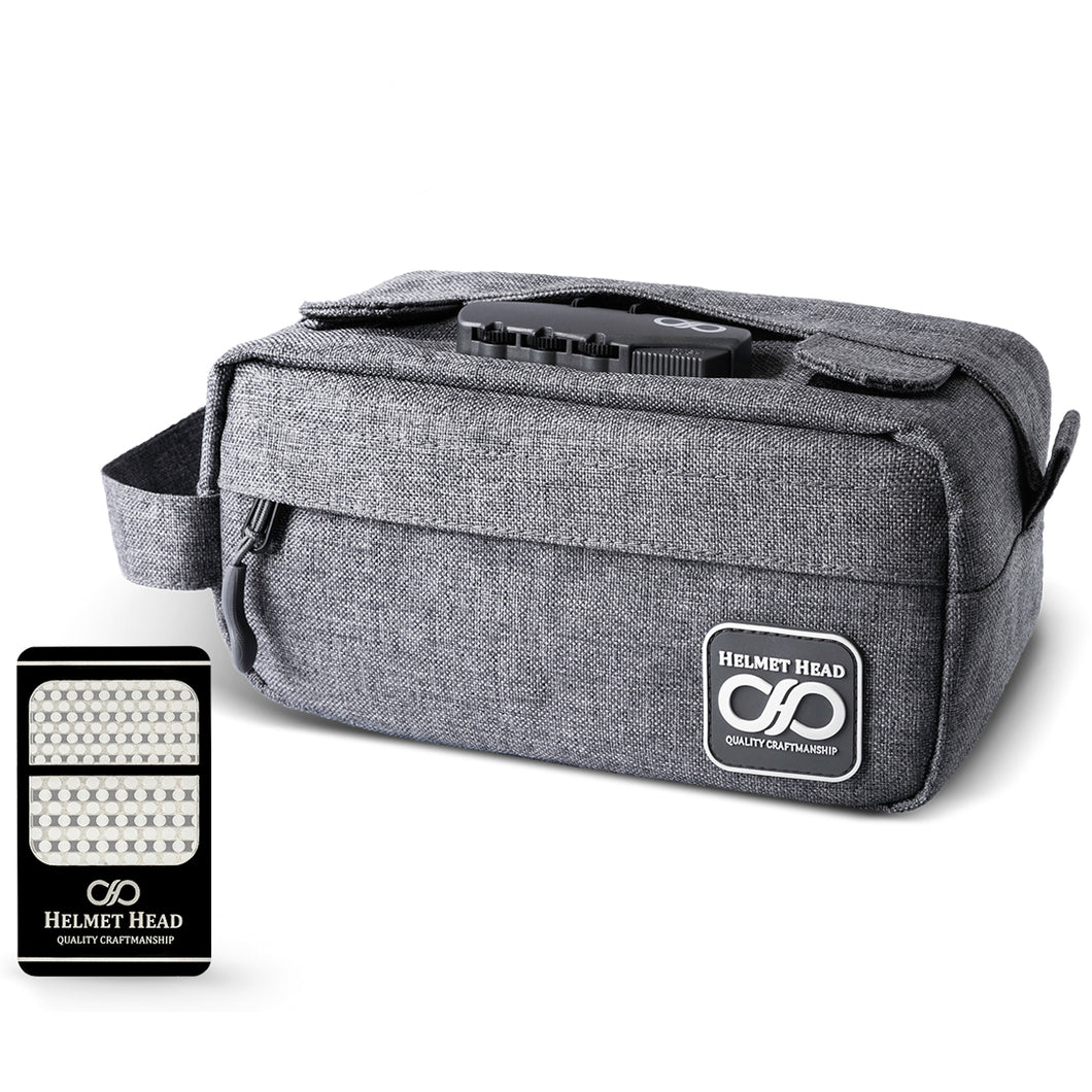 Gray Compact Smell Proof Case