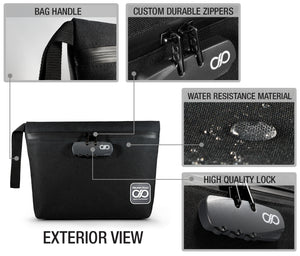 Black Odor Proof Bag